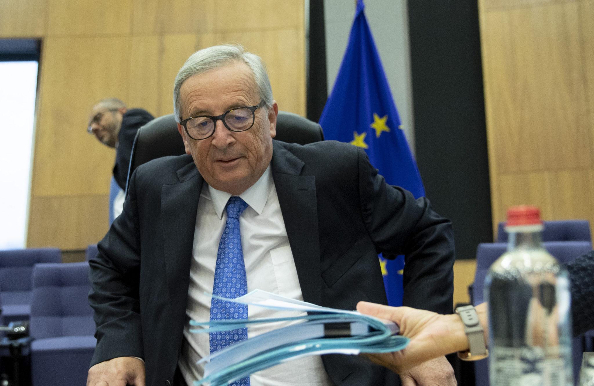 Juncker Johnson Brexit