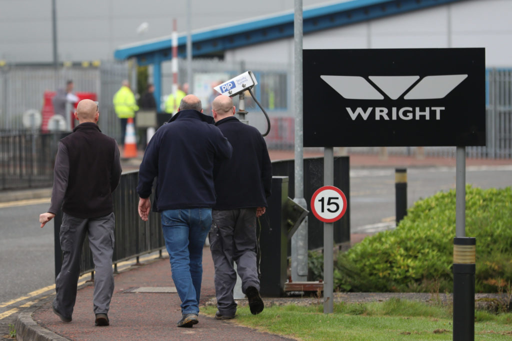 Wrightbus set to go into administration, MP warns