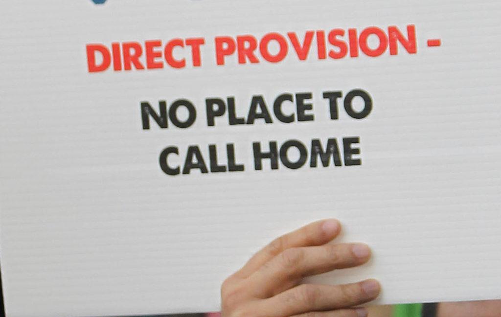 Direct provision protest