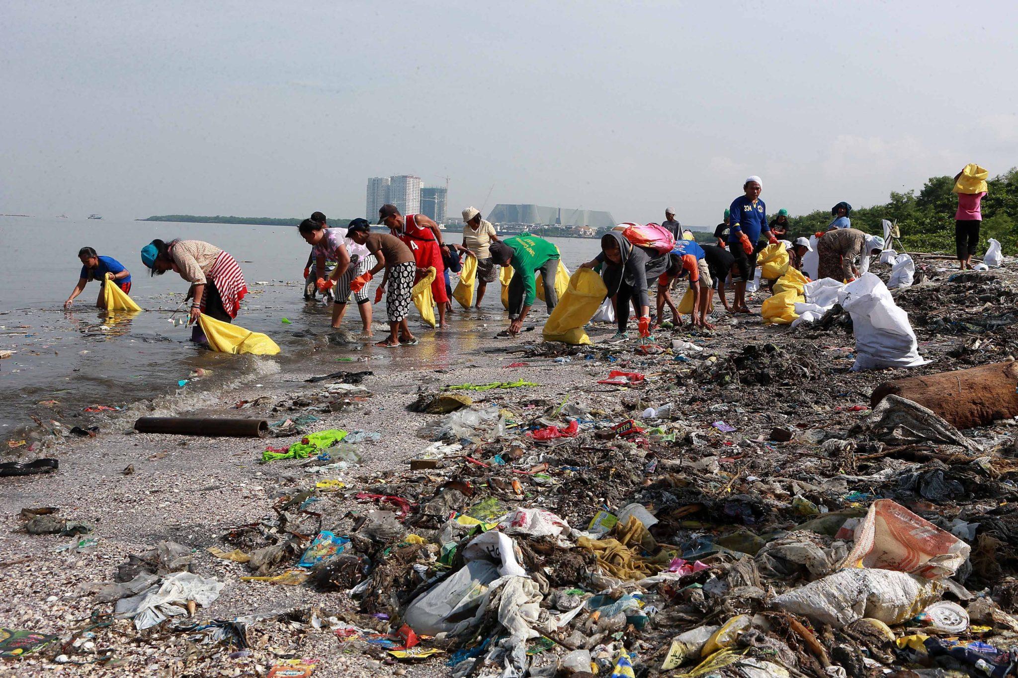 Plastic pollution