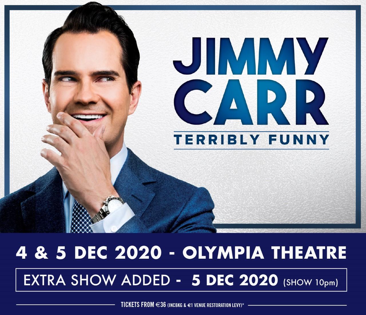 Jimmy Carr, Dublin, Olympia,