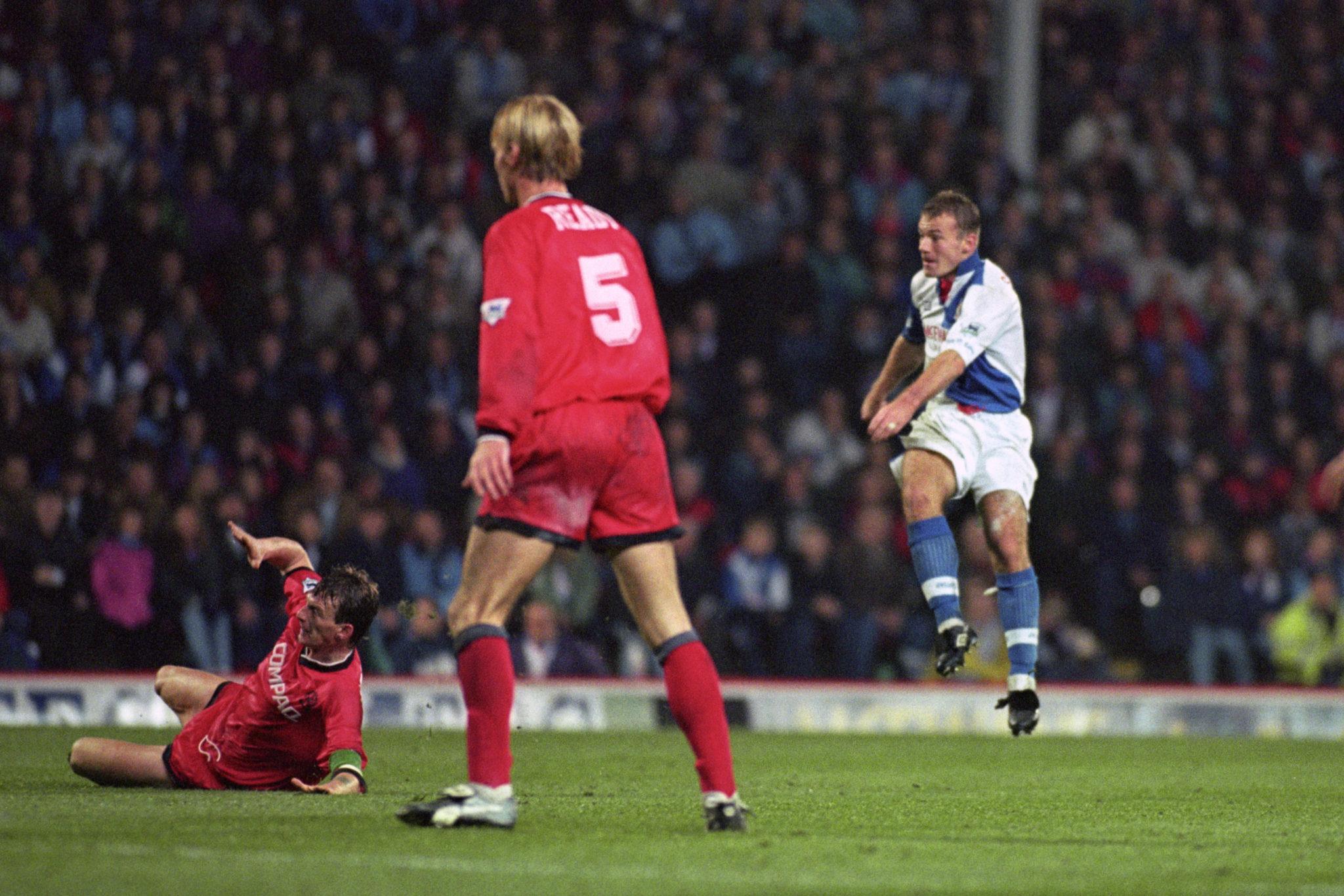 Alan Shearer, hat-trick, Blackburn Rovers, Liverpool