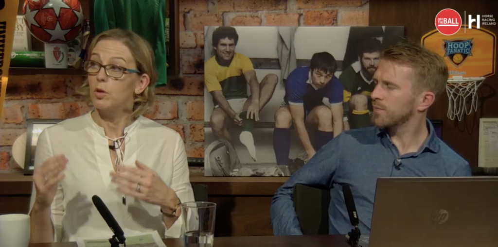 Gillian O'Loughlin, dietitian, Johnny Ward, horse racing