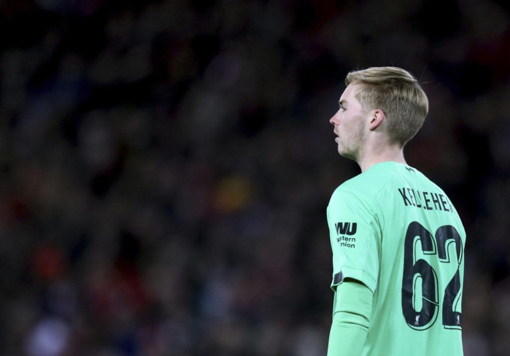 Caoimhin Kelleher, Kelleher, Liverpool, Arsenal