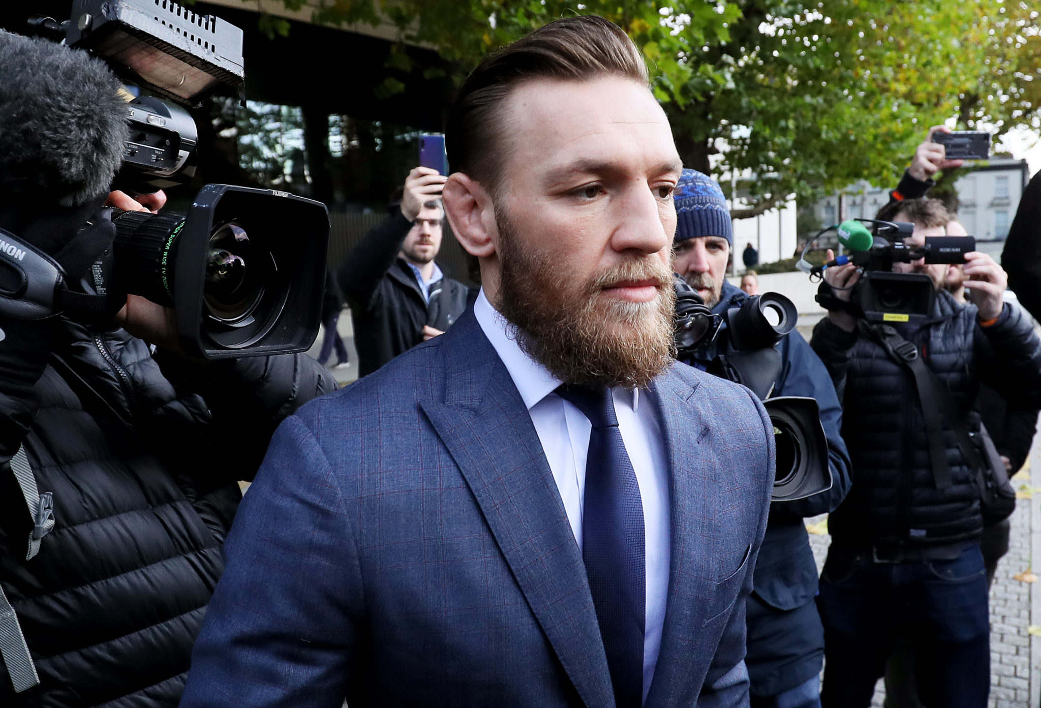 Conor McGregor pleas guilty, gets fined for Ireland pub punch