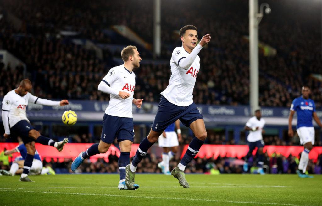 Dele Alli, Tottenham, Everton