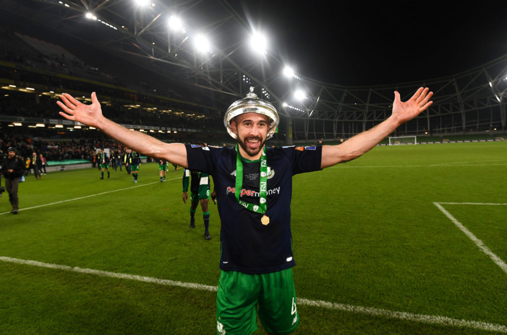 Roberto Lopes, Shamrock Rovers, FAI Cup