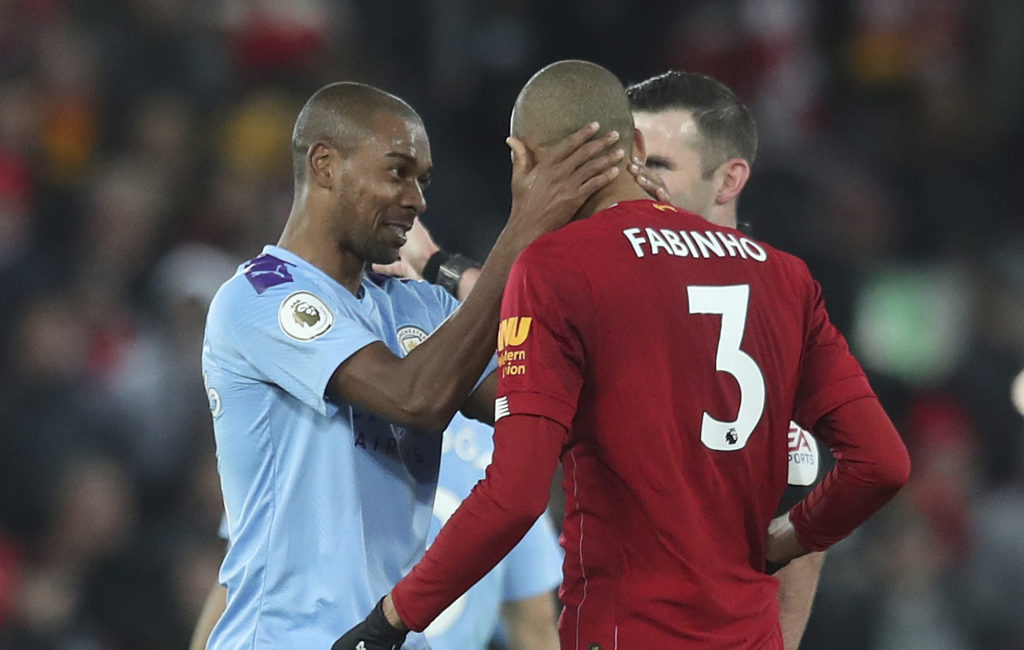 Fabinho, Fernandinho, Manchester City, Liverpool, Premier League