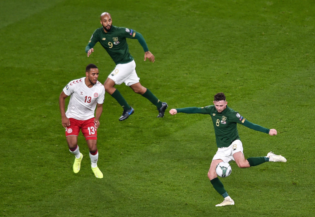 Alan Browne, Ireland, Denmark, Player Ratings