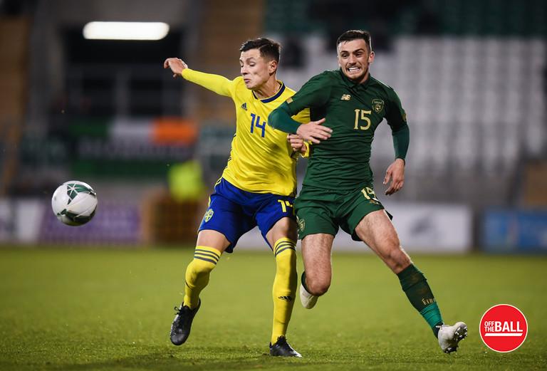 Troy Parrott, Ireland U21s,