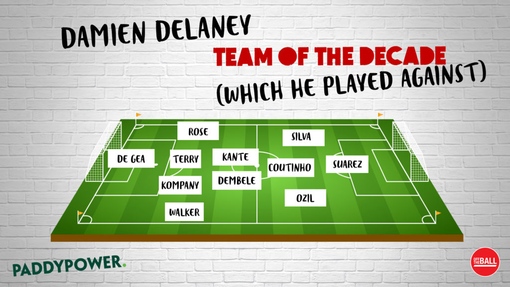 Damien Delaney, Team of the Decade,