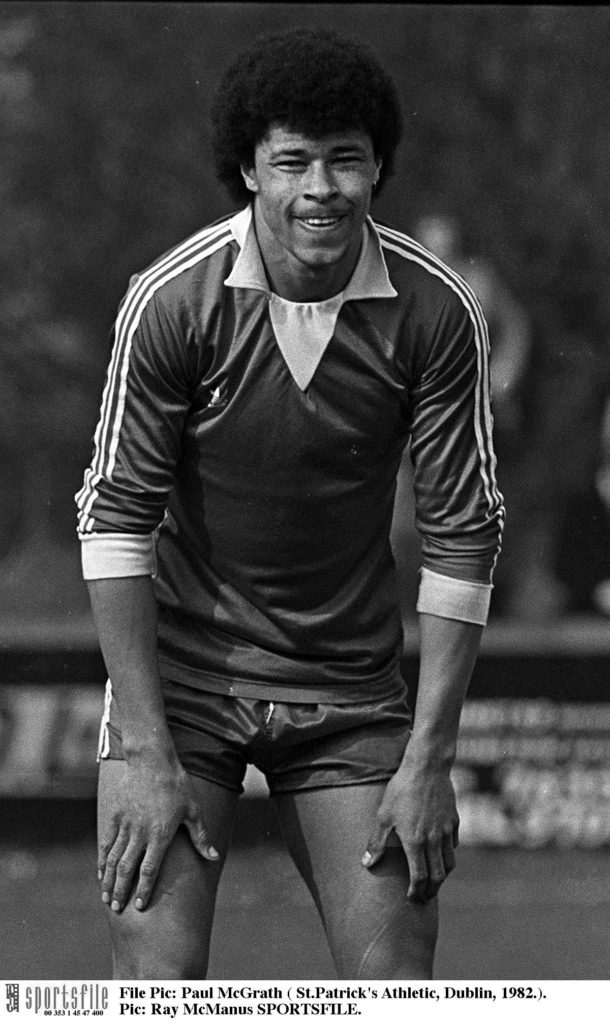 Paul McGrath, St Patrick's Athletic,