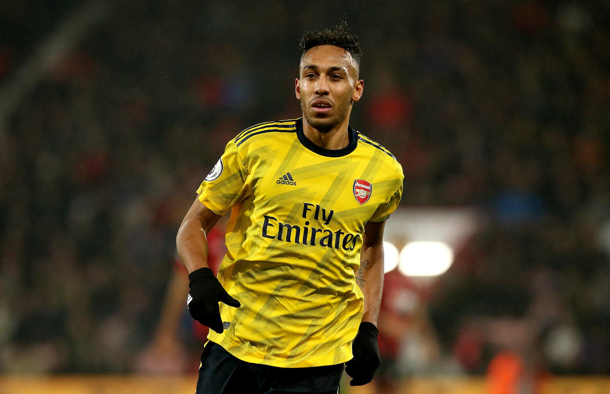 Arsenal striker Aubameyang