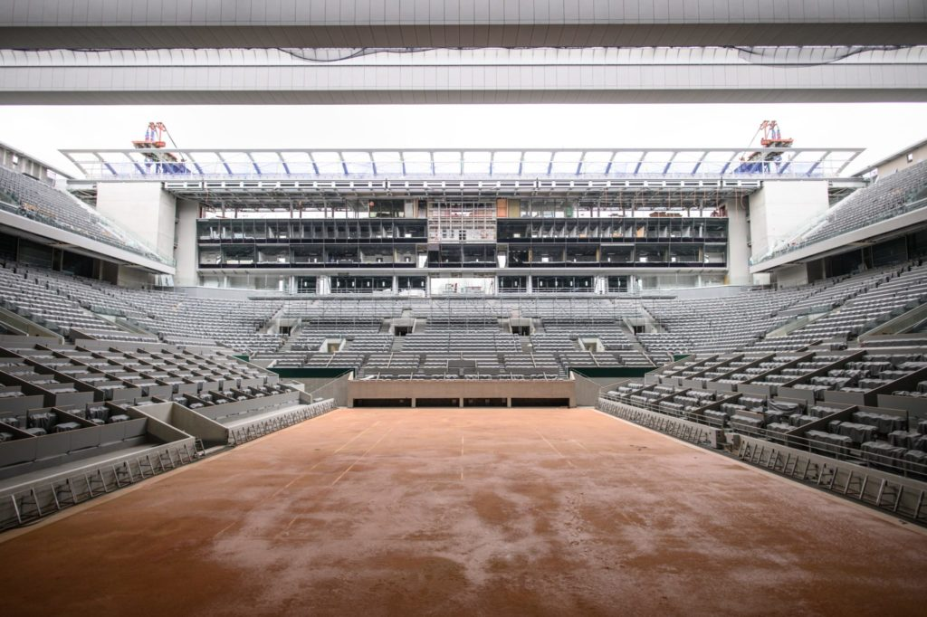 Watch: Roland Garros roof completed a month ahead of ...