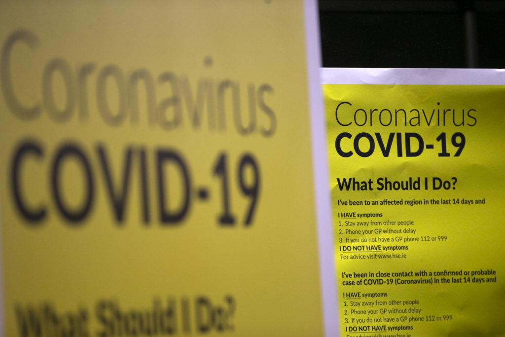 Irish coronavirus