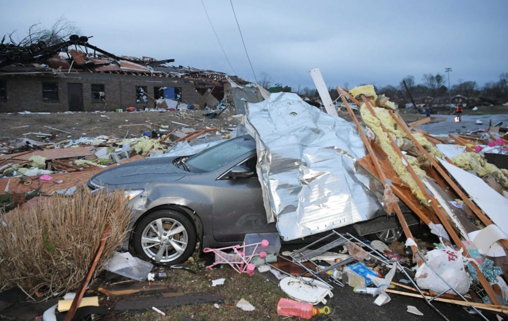 Carrie Underwood Talks About Panic of Nashville Tornado
