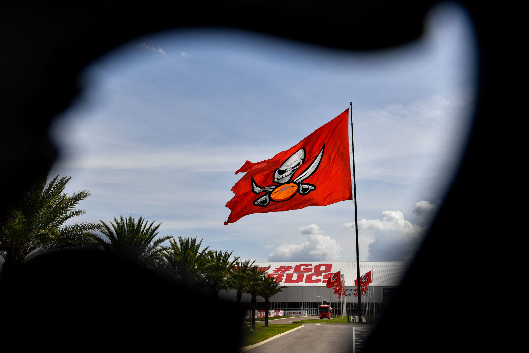 General view of the Tampa Bay Buccaneers training facility as rumors spread that quarterback Tom Brady (not pictured) could be signed to the team