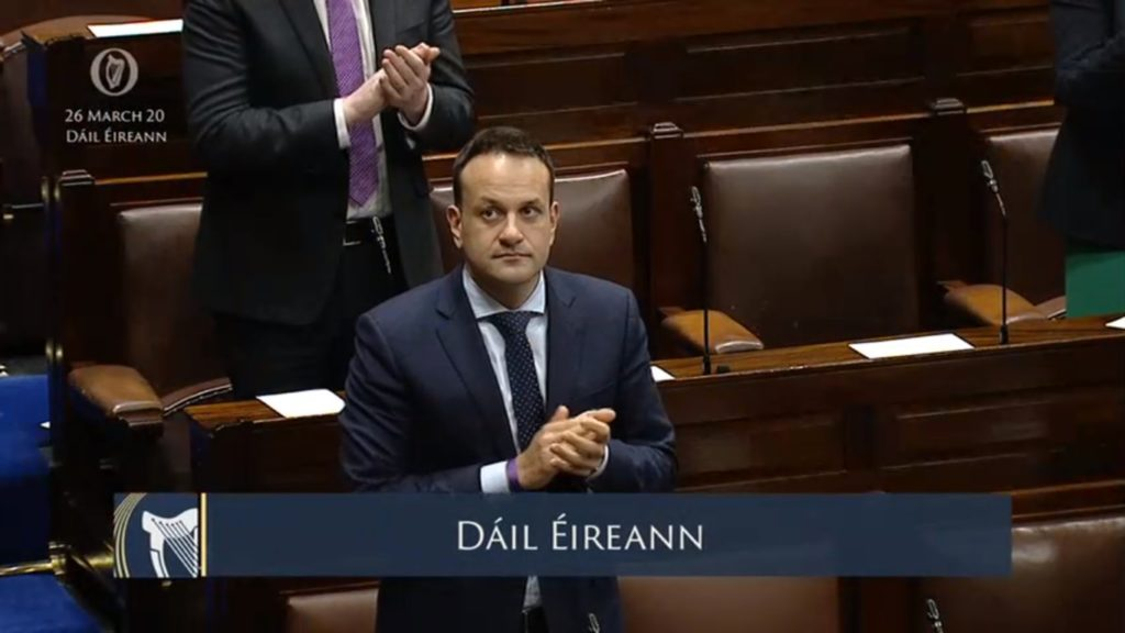 Covid-19: 'Everybody must stay at home' - An Taoiseach announces new restrictions