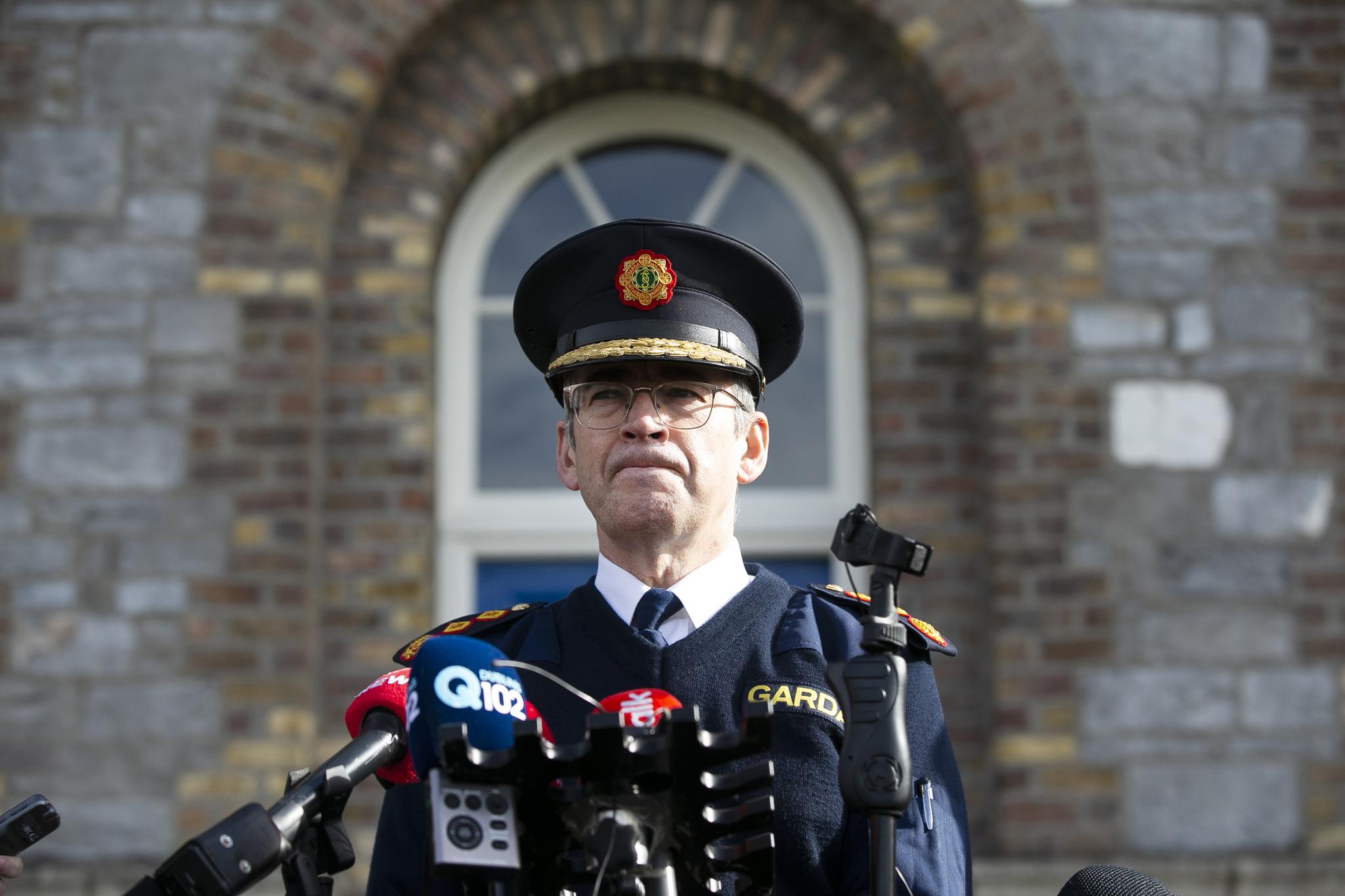 Garda Commissioner Drew Harris COVID-19