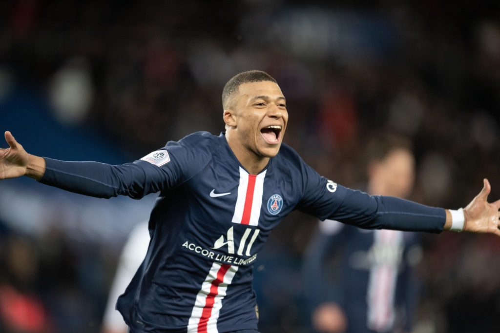 Mbappe and Haaland, European football's young stars