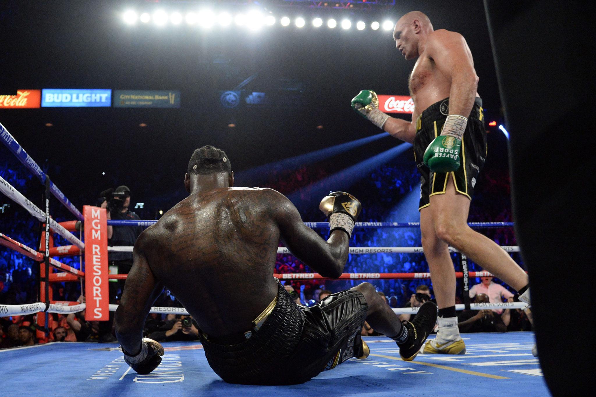 Tyson Fury is set to clash with Anthony Joshua next