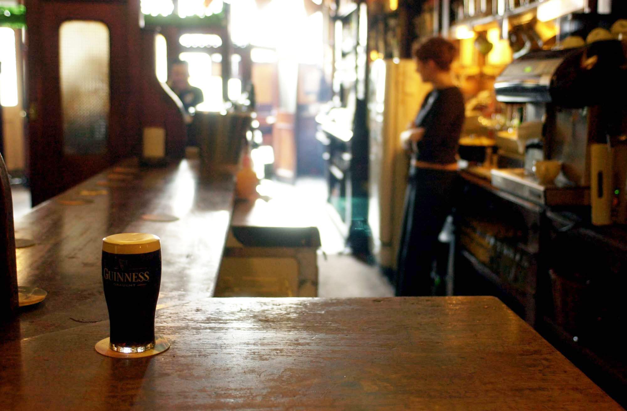 Prohibition pubs christmas