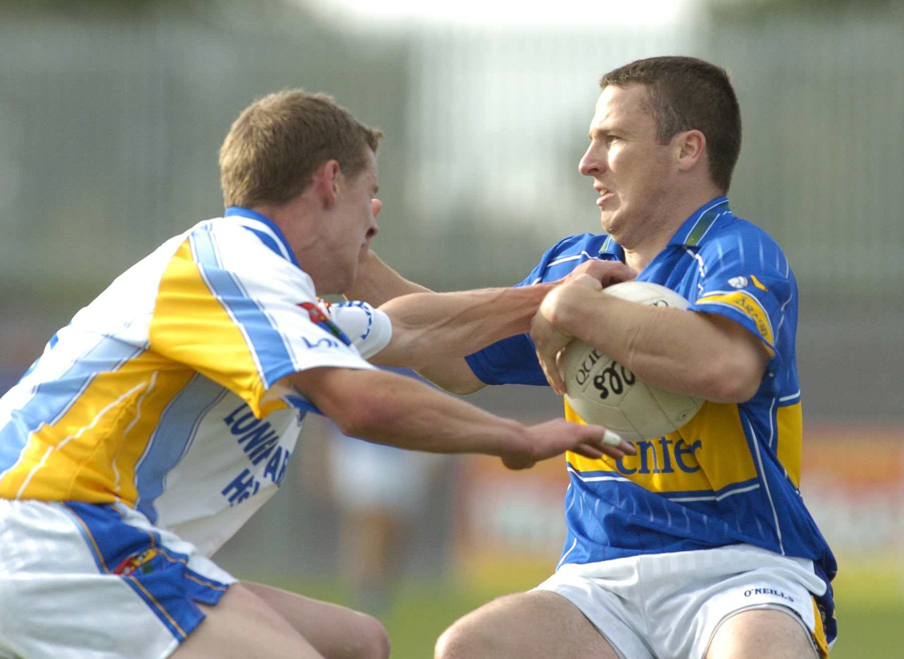 GAA match between Tipperary and Longford