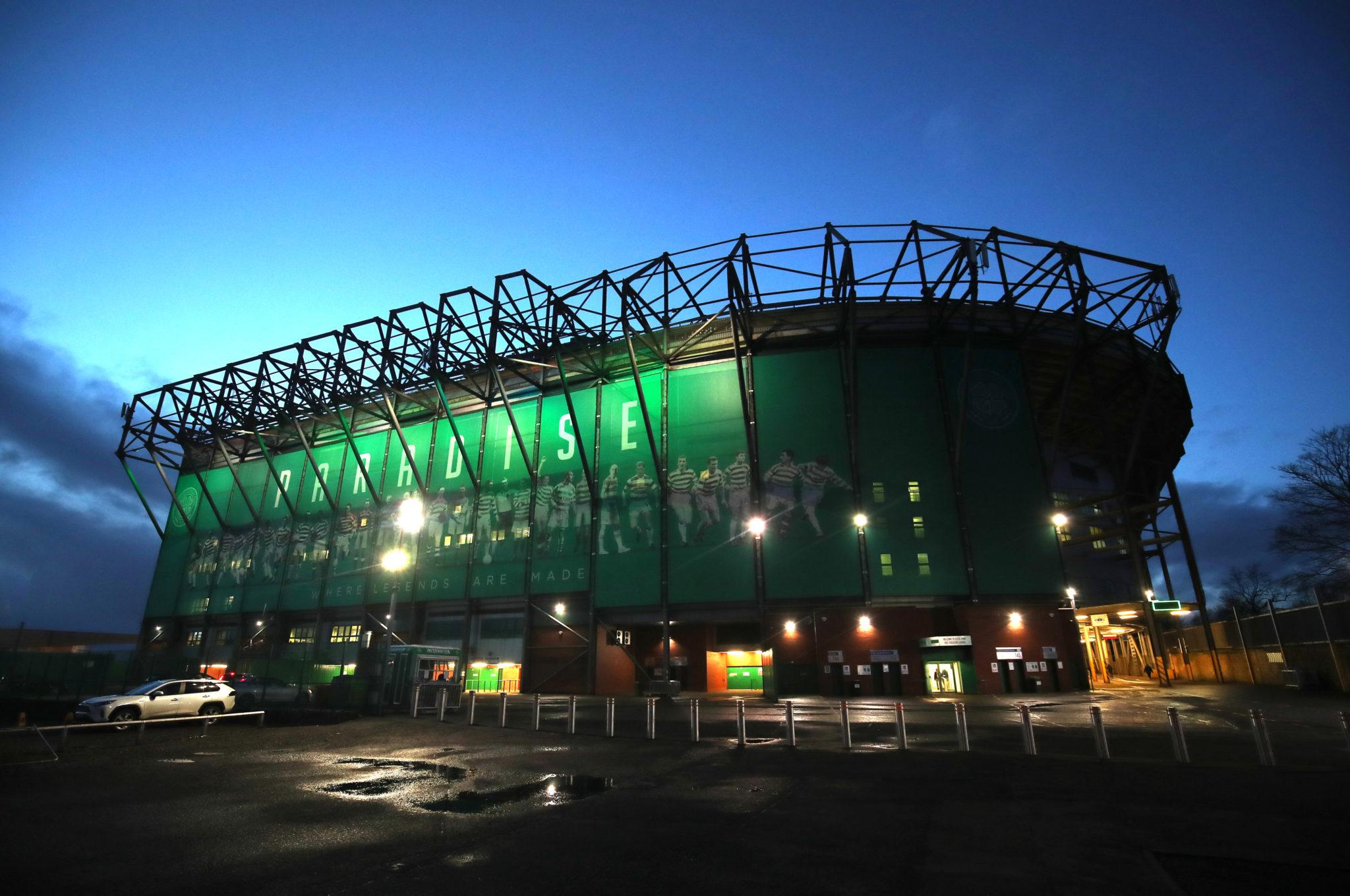 Cletic home stadium Parkhead