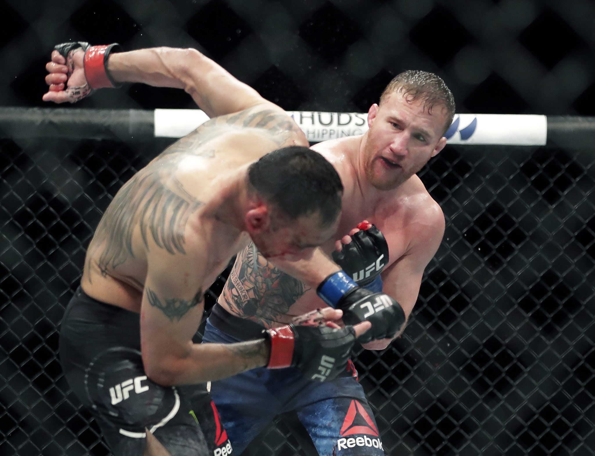 Justin Gaethje Defeats Tony Ferguson by Stoppage in UFC 249