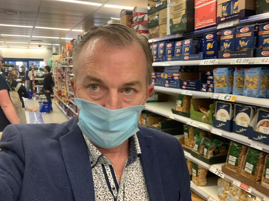 ''No Social Distancing'' Listener Describes Supermarket Experience