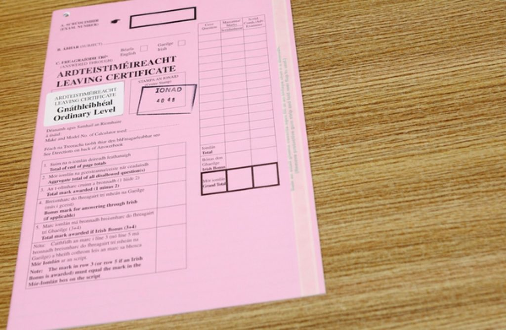 Leaving Cert 2020: Teachers And Schools Will Be Legally Protected From Any Cases Brought By Pupils Or Parents