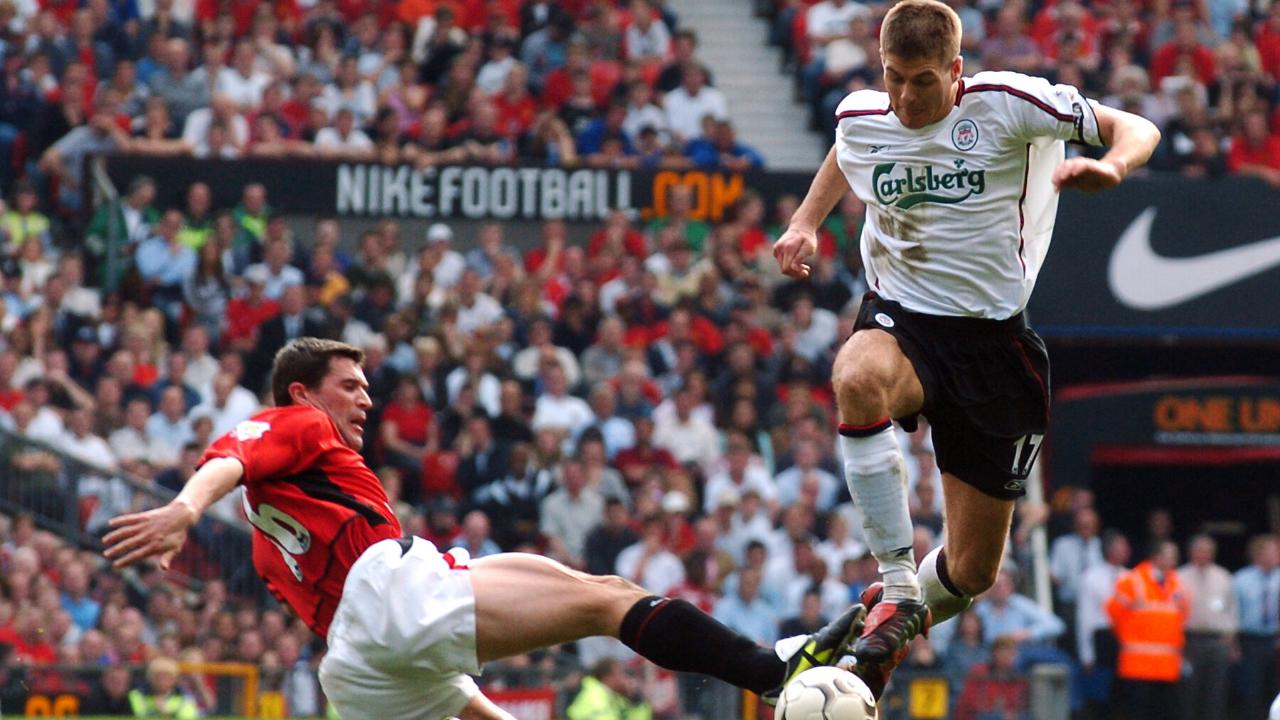 Roy Keane, Steven Gerrard