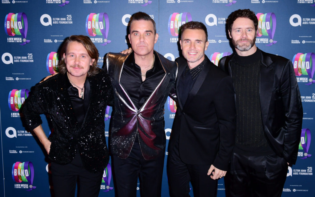 Take That, Robbie Williams,