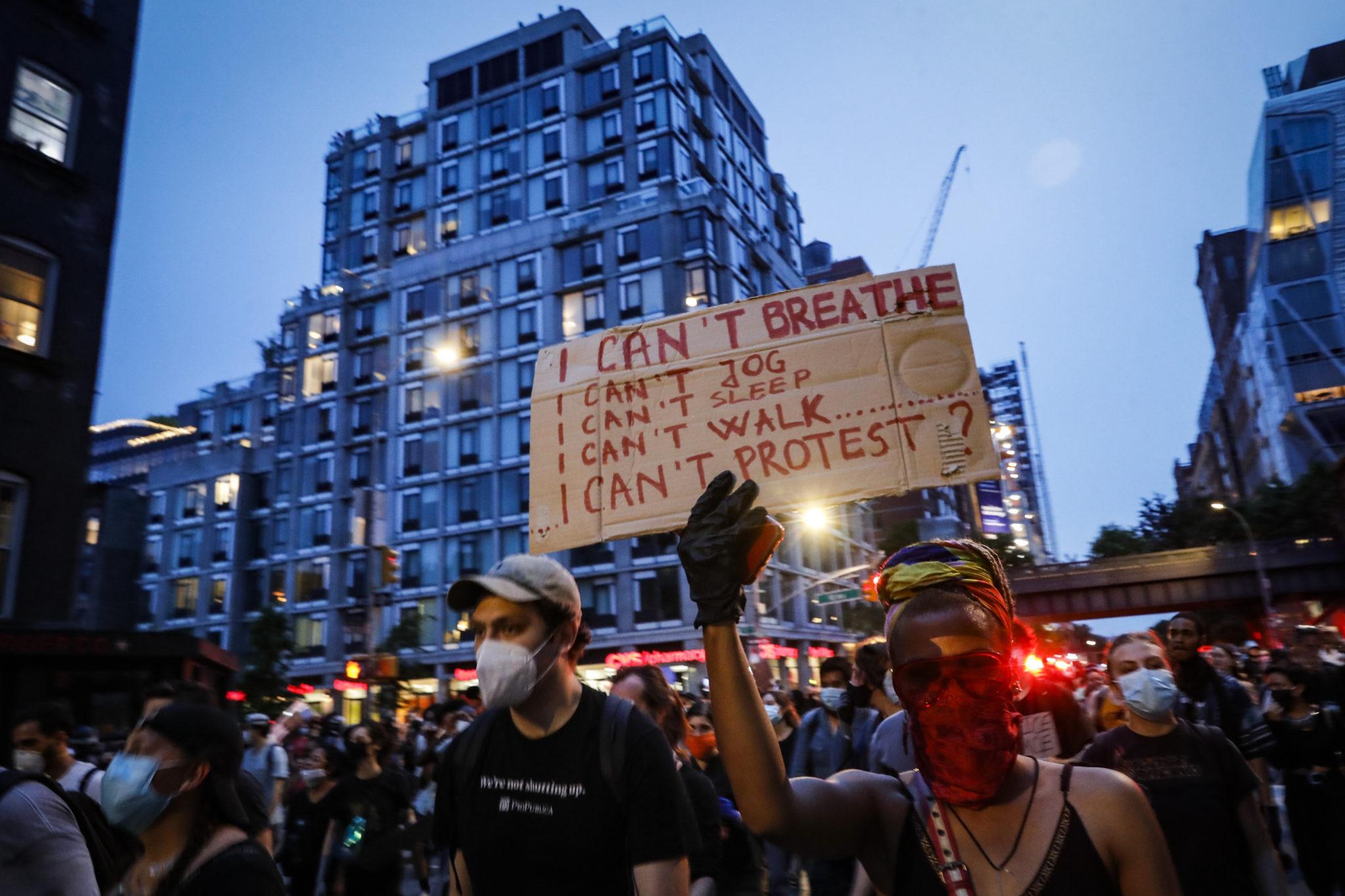 Gorge Floyd Protests New York