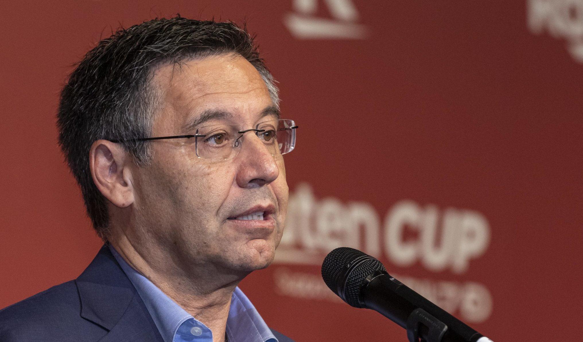 Former Barcelona president, Josep Maria Bartomeu