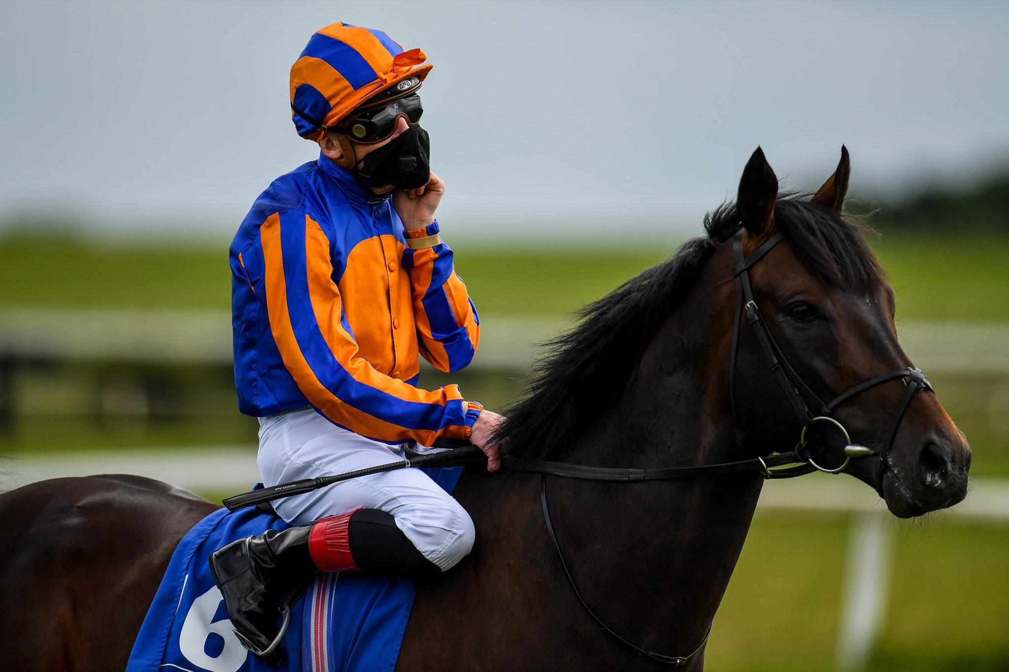 Gavin Ryan winning at the Curragh