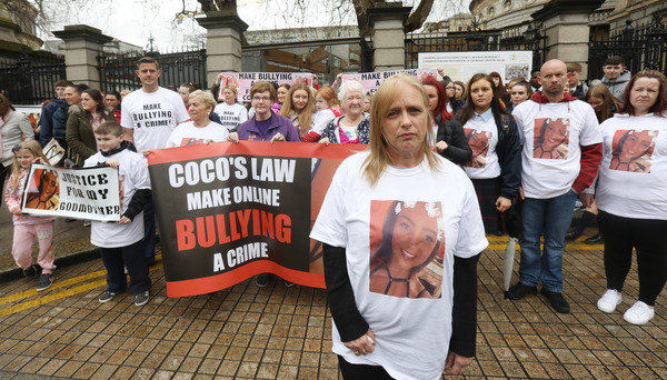 'Coco's Law' petition handed to Dáil