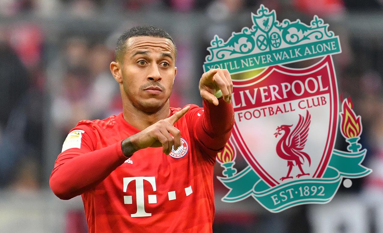 Thiago ALCANTARA (FC Bayern Munich) apparently before moving to Liverpool