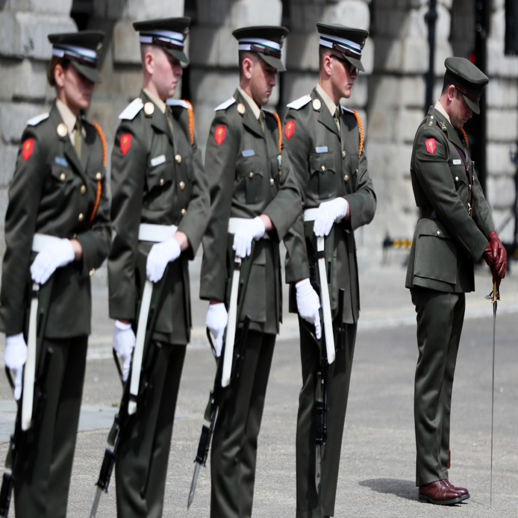 Irish Defence Forces are on their knees