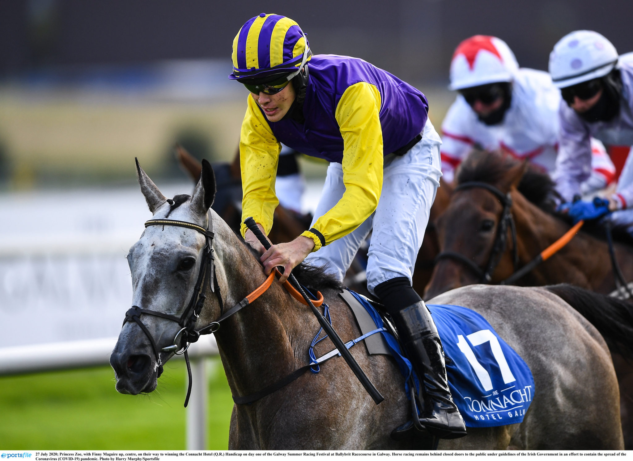 tony Mullins trained Princess Zoe wins at Galway