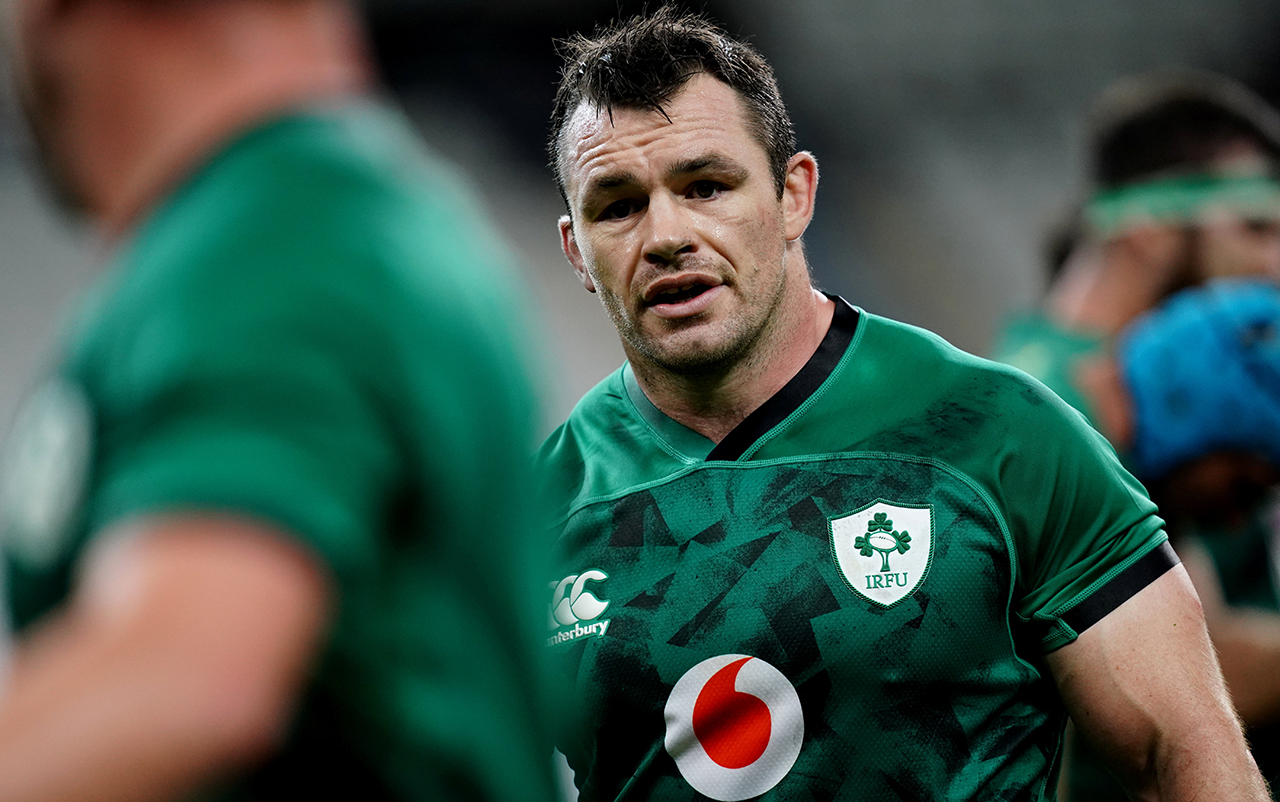 Cian Healy of Ireland during the Guinness Six Nations Rugby Championship match between France and Ireland at Stade de France in Paris, France.