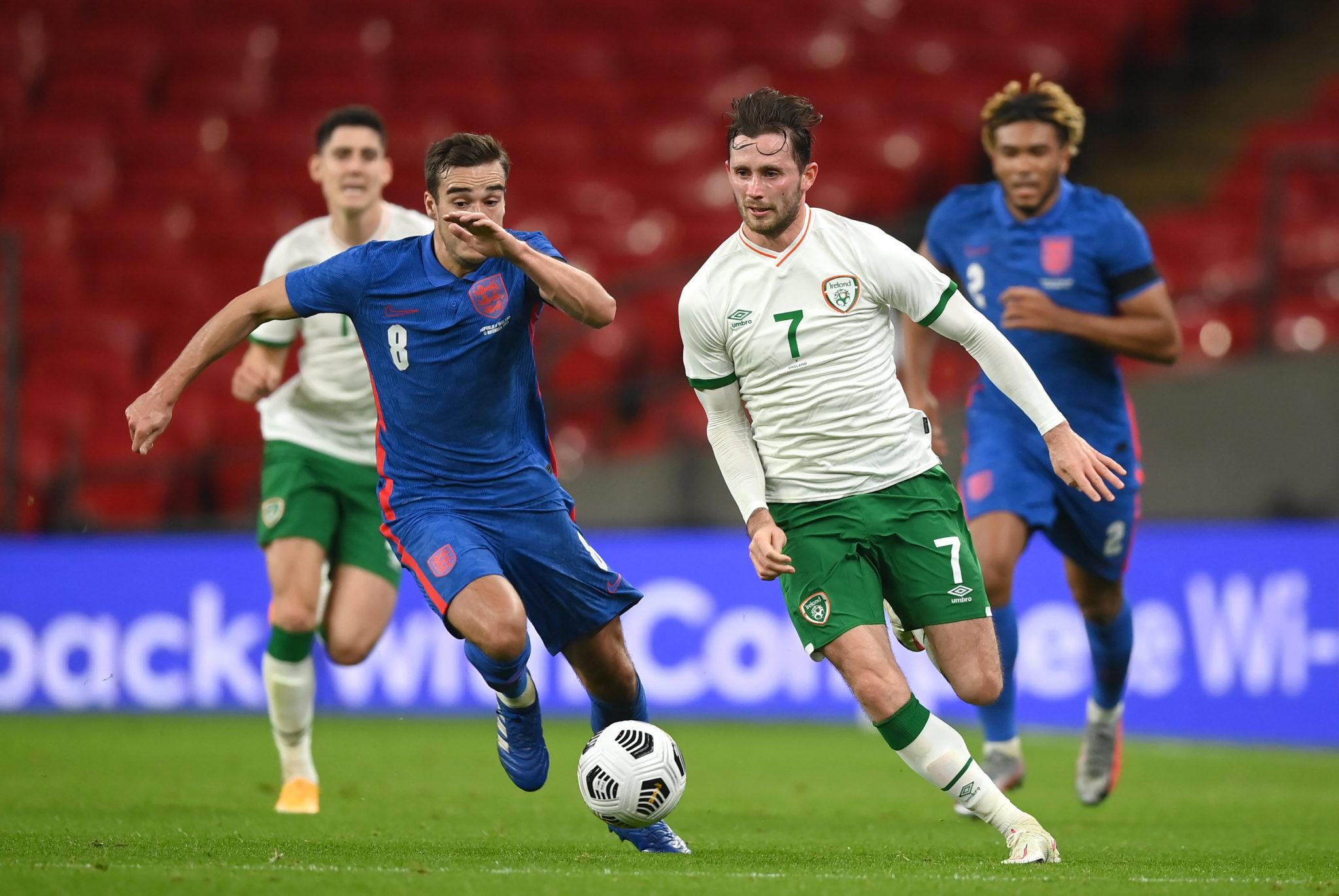 Republic of Ireland footballer Alan Browne had coronavirus during match against England