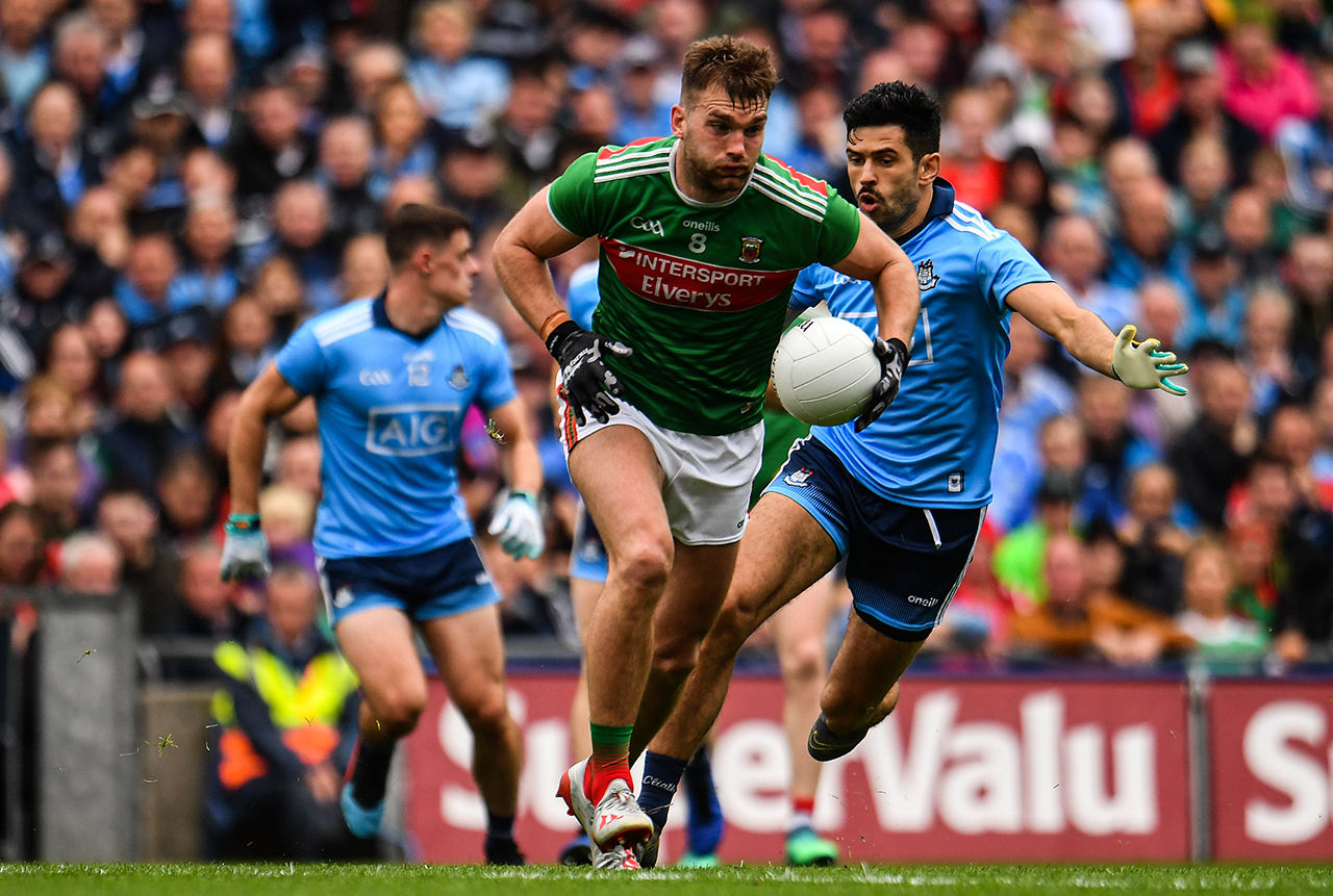 Aidan O'Shea Mayo vs Dublin