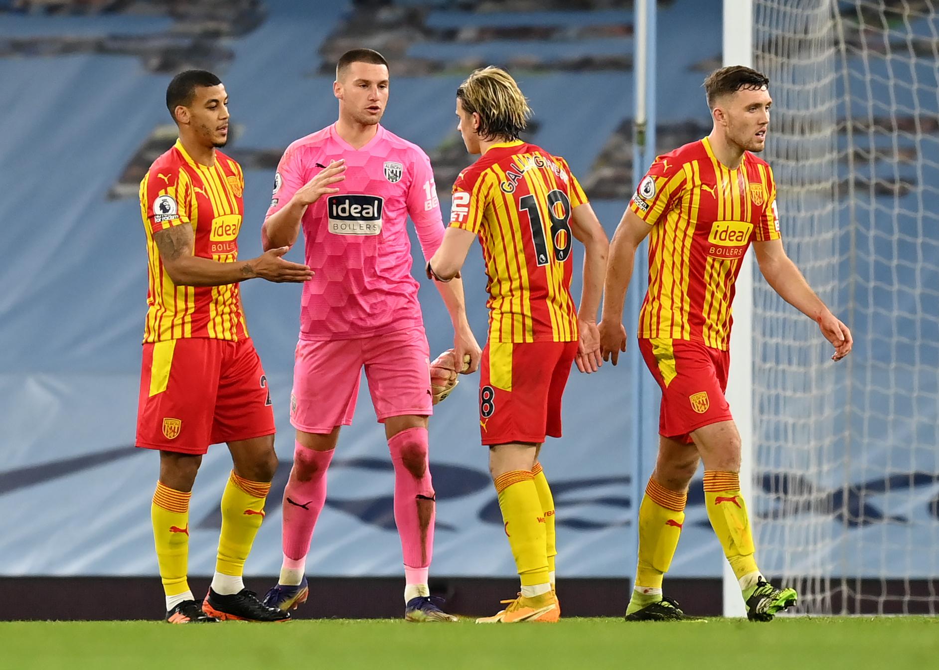 Bilic's players celebrate Man City draw