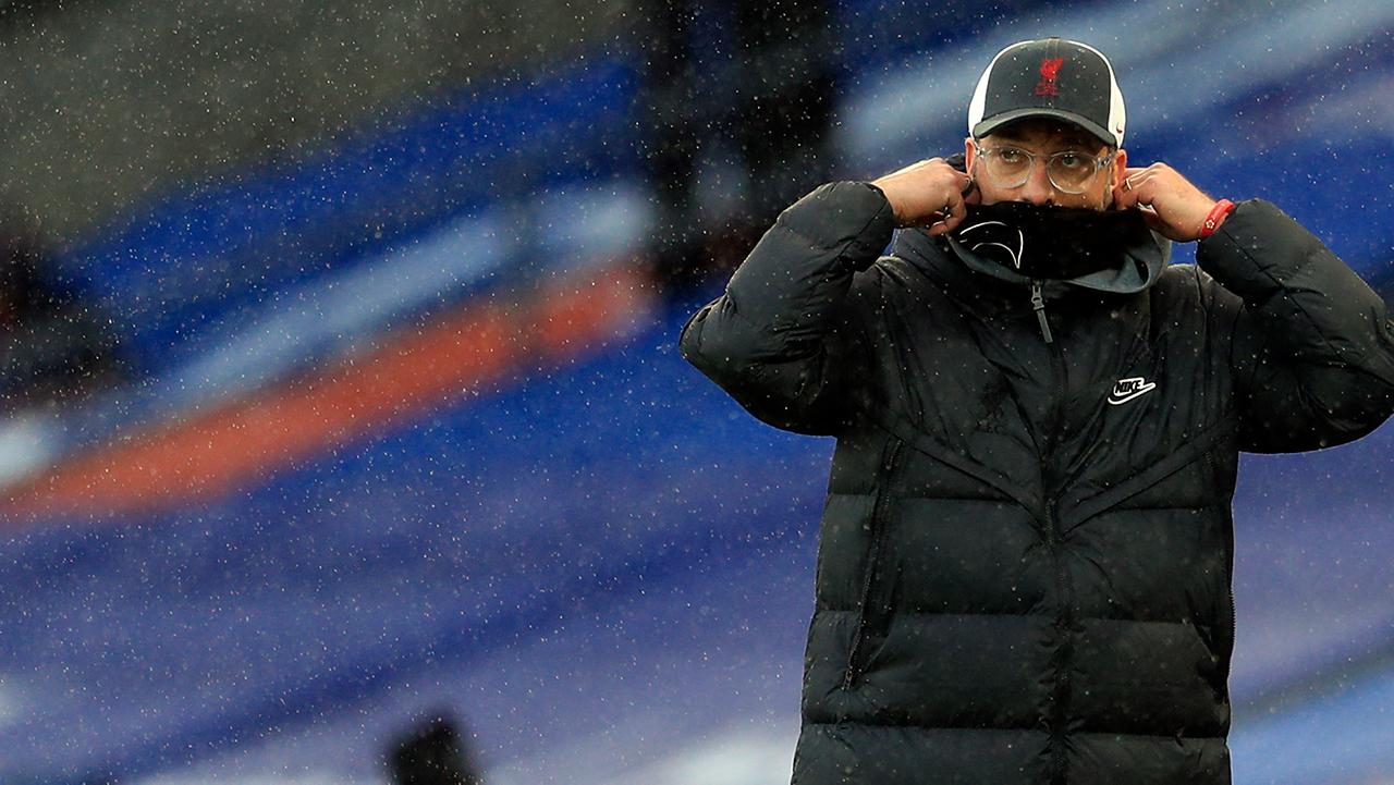 Jurgen Klopp Liverpool vs Crystal Palace