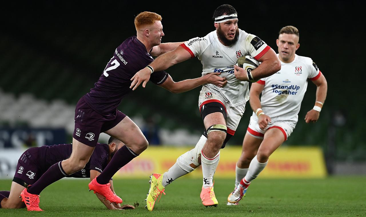 Marcell Coetzee Ulster vs Leinster