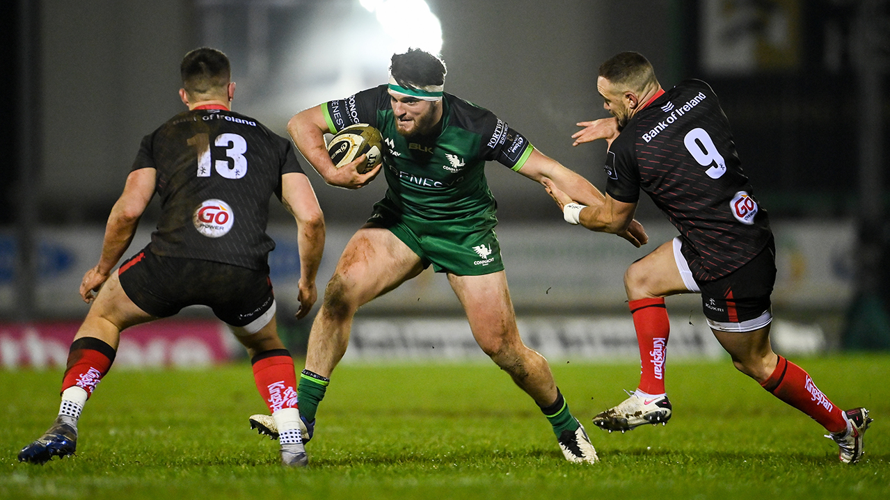 Tom Daly Connacht vs Ulster