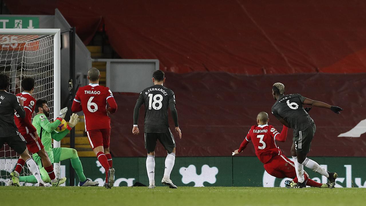 Pogba Manchester United vs Liverpool Keane