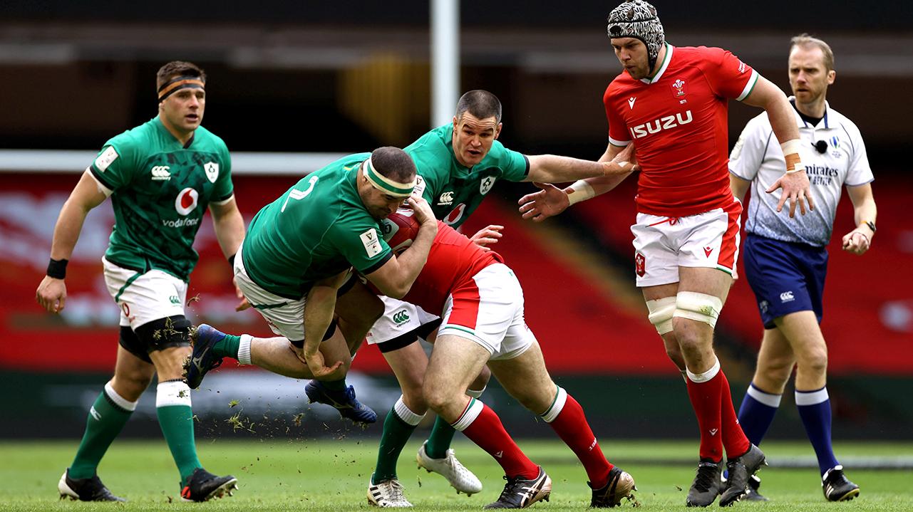 Rob Herring Ireland vs Wales