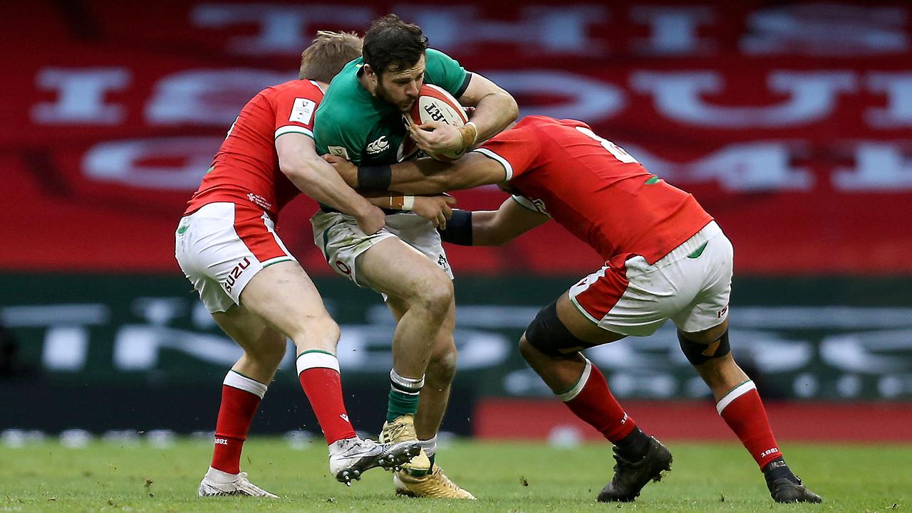 Robbie Henshaw Ireland vs Wales